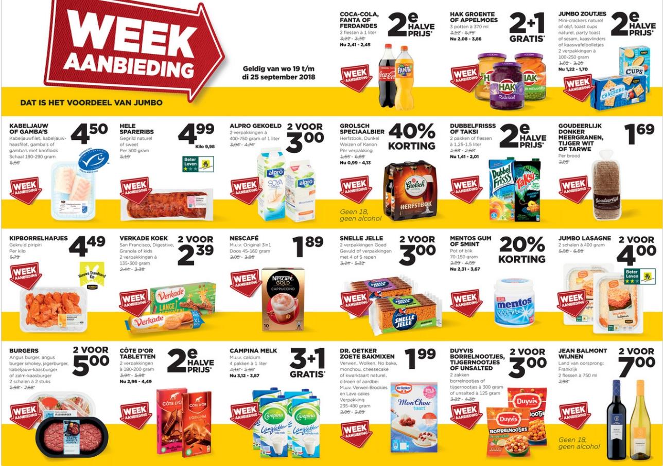 De buurtfolders van deze week (week 38)