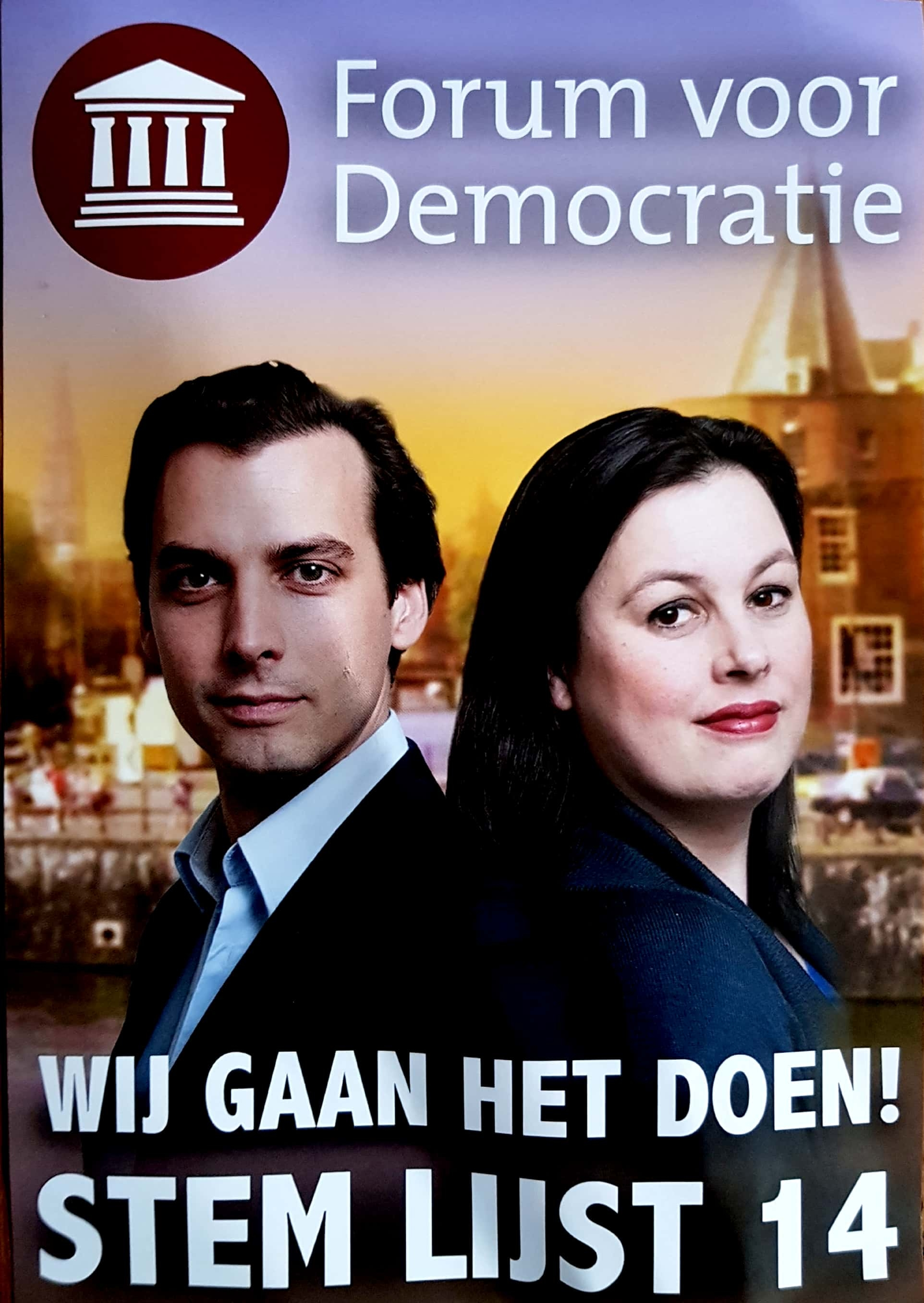 'Ongevraagde' politieke flyers