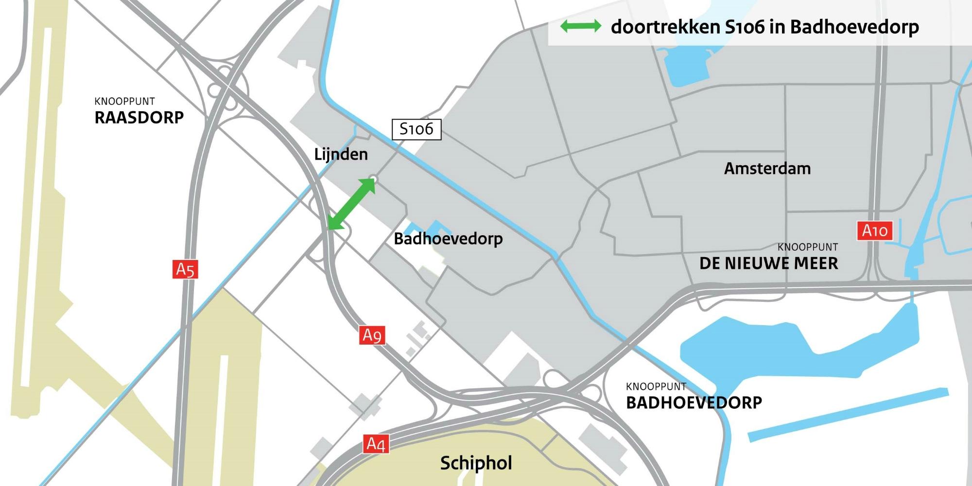 Oprit naar A9 is open. Lekker snel naar Haarlem!