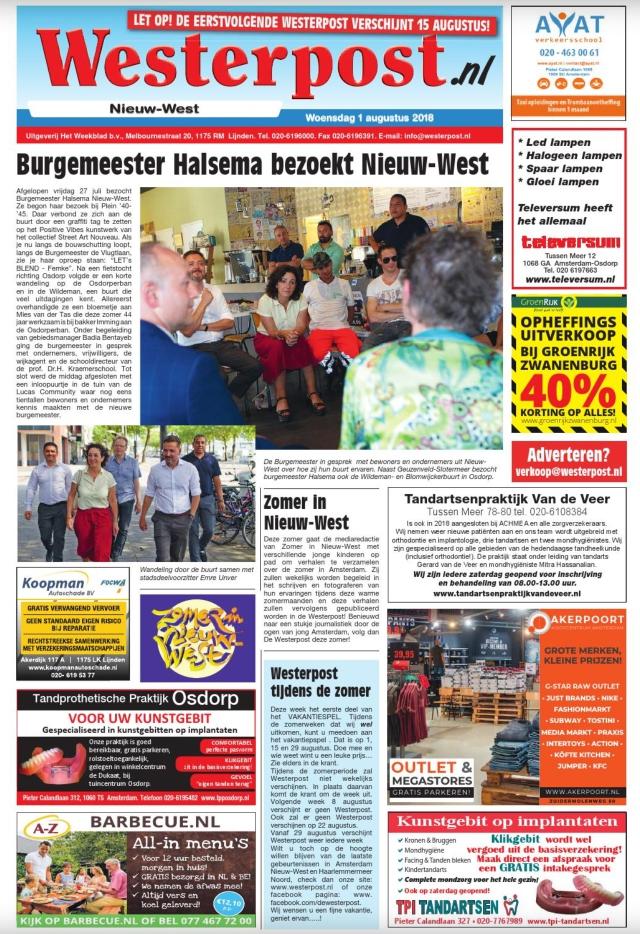 De wijkkranten van deze week (week 32)