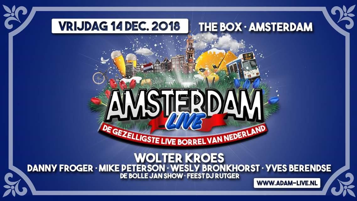 """Amsterdam Live"" in The BOX."