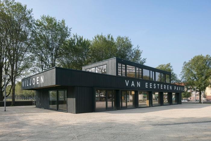 Opening Van Eesteren Paviljoen op 20 oktober