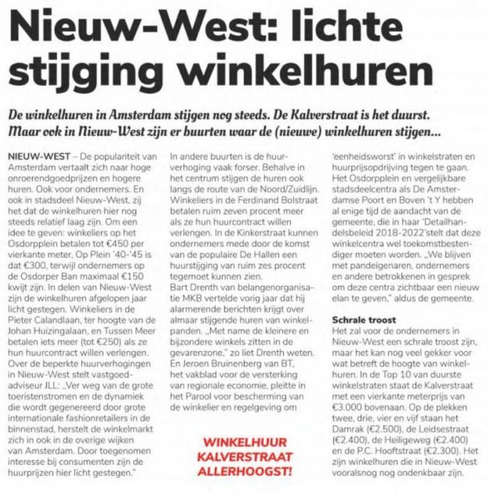 Winkelhuren in Amsterdam Nieuw-West