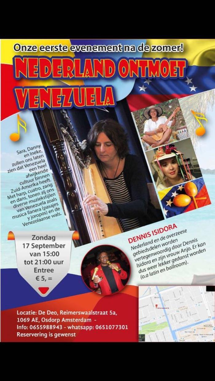 Nederland ontmoet Venezuela